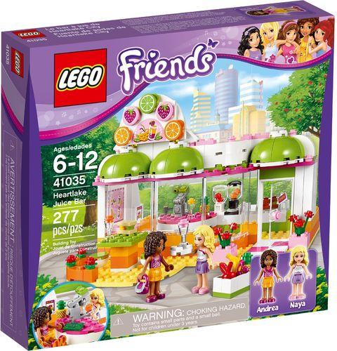 LEGO® Friends - Heartlake Saft- & Camp; Smoothiebar - 41035