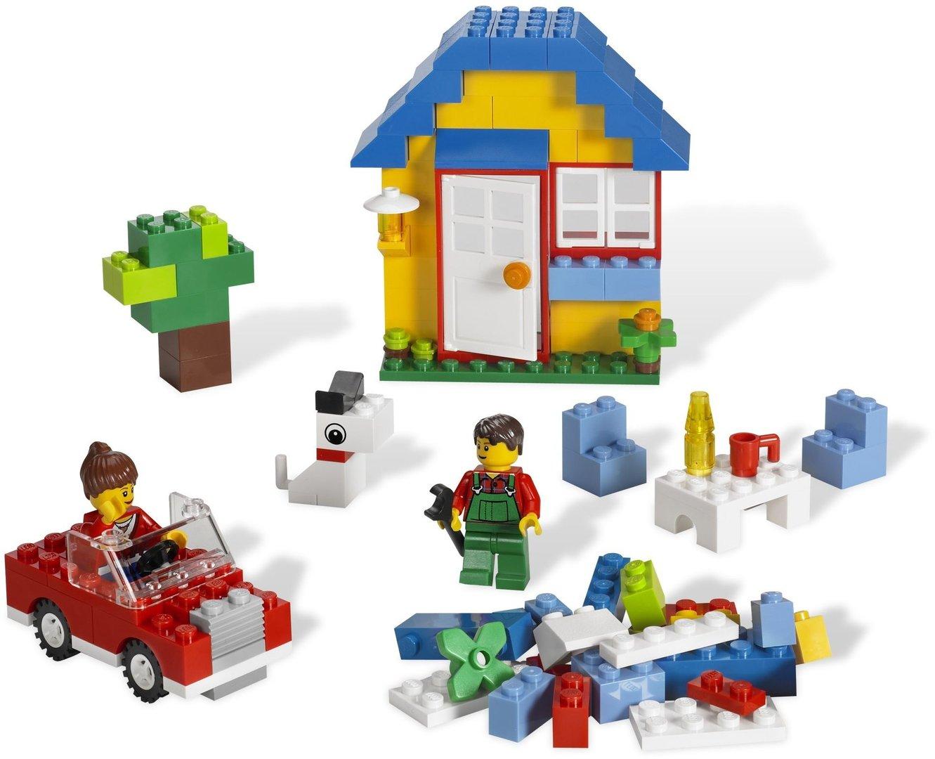 lego bausteine haus 5899 steinekiste. Black Bedroom Furniture Sets. Home Design Ideas