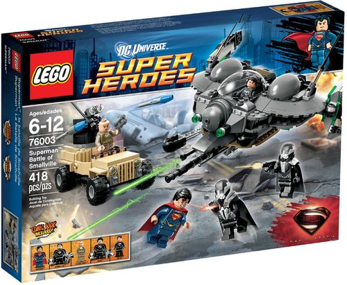 LEGO® DC Comics™ Super Heroes - Superman Aufruhr in Smallville - 76003
