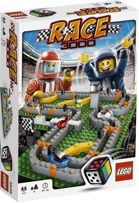Lego Spiele Race 3000 3839 Steinekiste