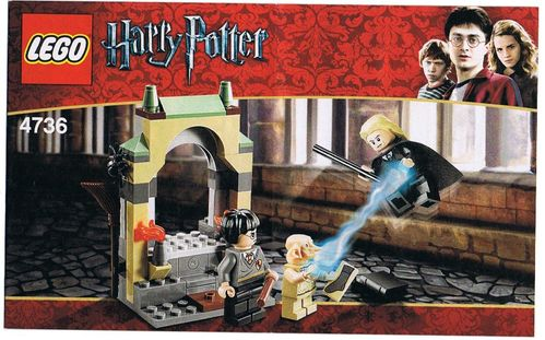 LEGO® Bauanleitung Harry Potter - Dobby´s Befreiung - 4736
