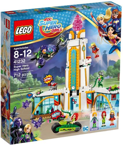 LEGO® DC Super Hero Girls™ - Highschool der Super Heros - 41232