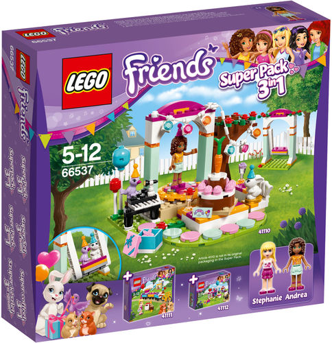 LEGO® Friends - Geburtstagset 3 in 1 - 66537