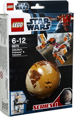 LEGO® Star Wars™ - Sebulba's Podracer & Tatooine - 9675