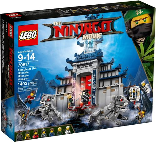 LEGO® THE LEGO® NINJAGO® Movie™ - Ultimatives Tempel-Versteck - 70617