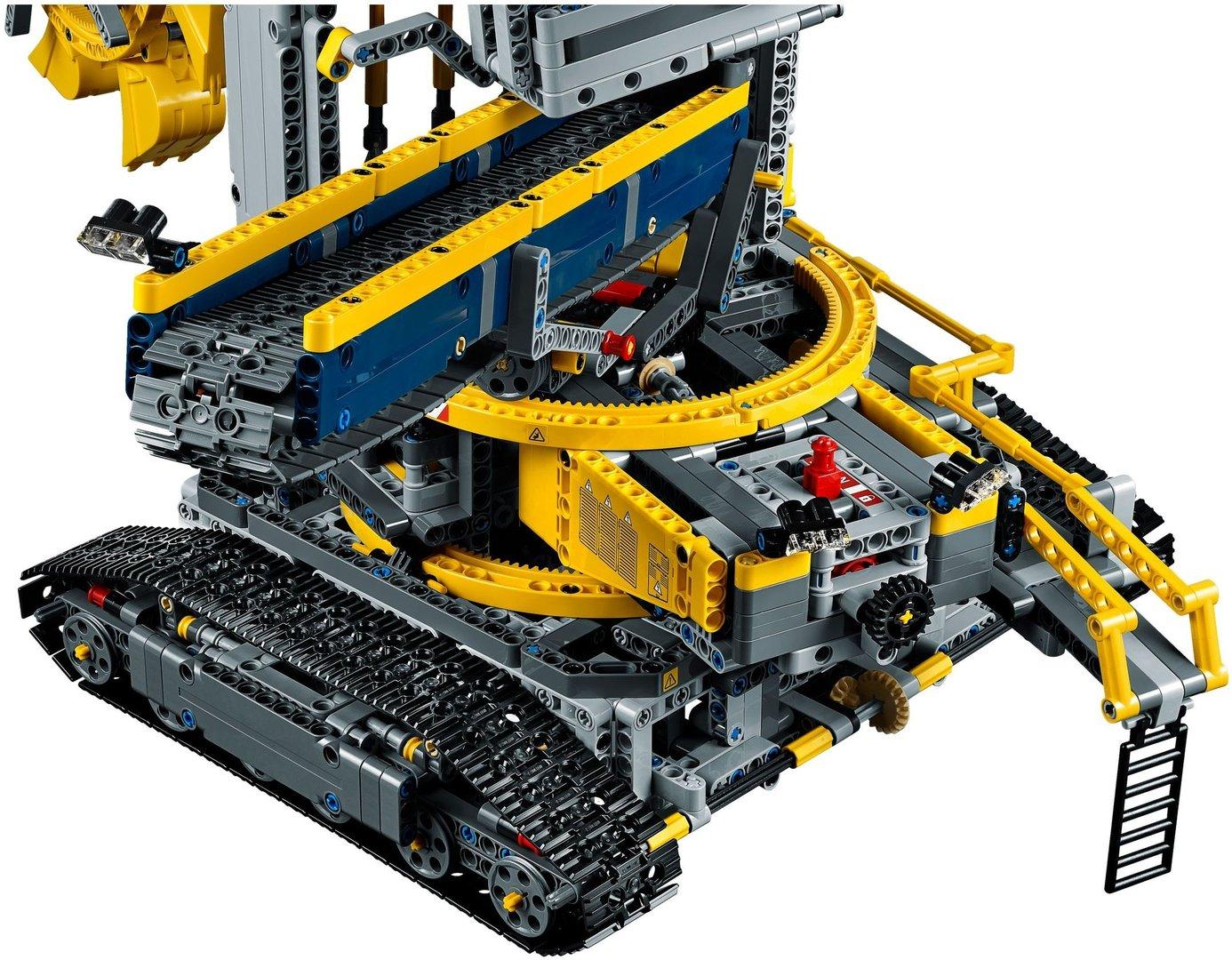 lego technic schaufelradbagger 42055 steinekiste. Black Bedroom Furniture Sets. Home Design Ideas