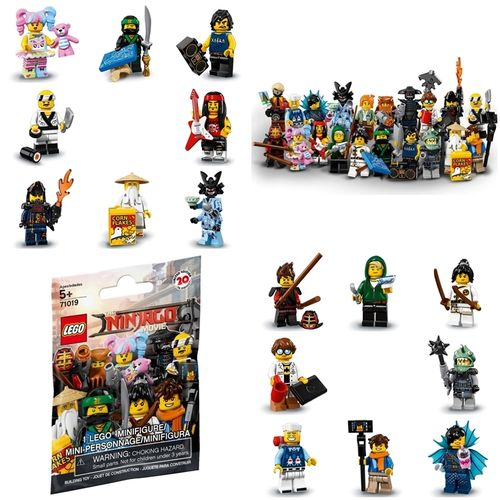 LEGO® Serie The Ninjago Movie Minifiguren 71019 diverse nach Wahl