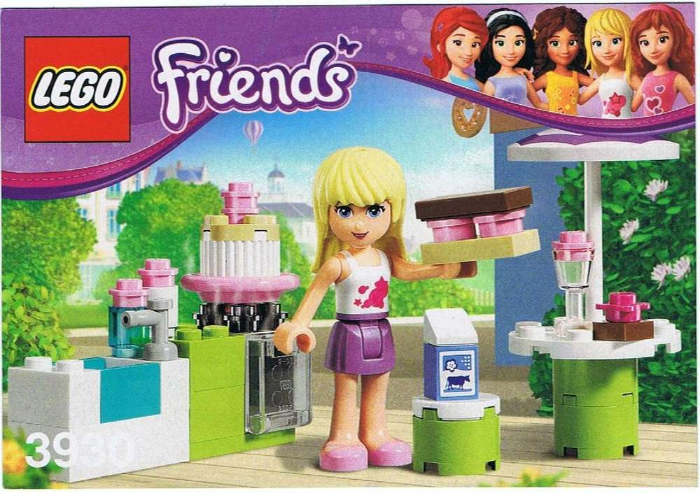 Lego Bauanleitung Friends Andreas Zimmer 41009 Steinekiste