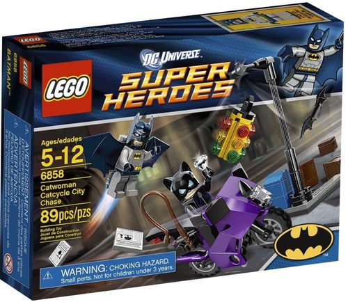 LEGO® DC Comics™ Super Heroes - Catwoman Catcycle City Chase - 6858