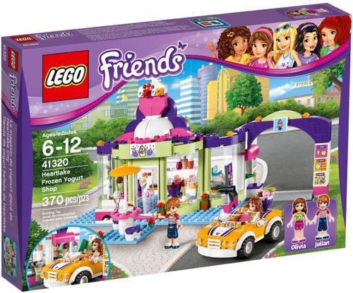 LEGO® Friends - Heartlake Joghurteisdiele - 41320