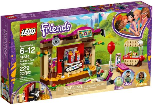 LEGO® Friends - Andreas Bühne im Park - 41334