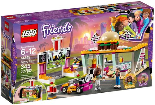 LEGO® Friends - Burgerladen - 41349