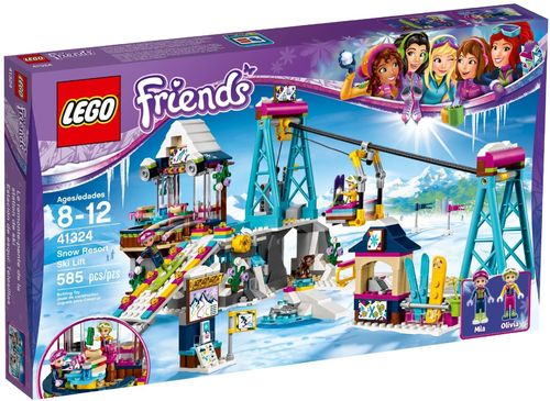 LEGO® Friends - Skilift im Wintersportort - 41324