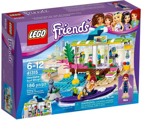 LEGO® Friends - Heartlake Surfladen - 41315