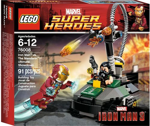 LEGO® Marvel Super Heroes - Iron Man vs. The Mandarin Letzte Entscheidung - 76008