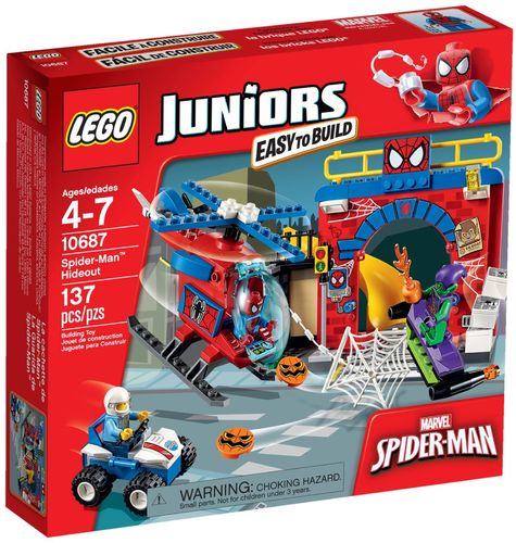 LEGO® Juniors - Spider-Man Versteck - 10687