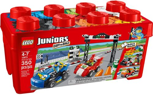 LEGO® Juniors - Große Steinebox Ralley - 10673