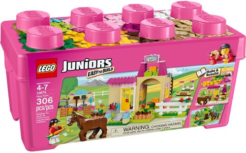 LEGO® Juniors - Steinebox Ponyhof - 10674