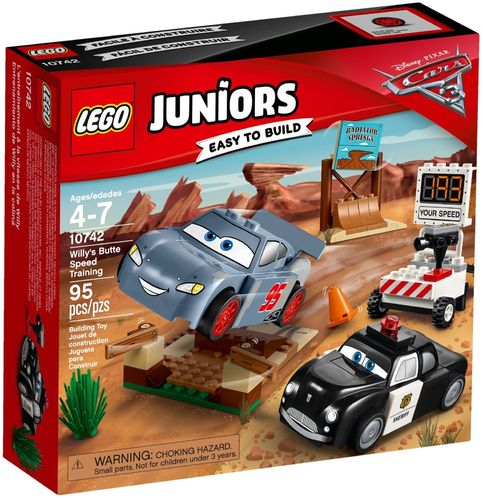 LEGO® Juniors - Cars Rasante Trainingsrunden in der Teufelsschanze - 10742
