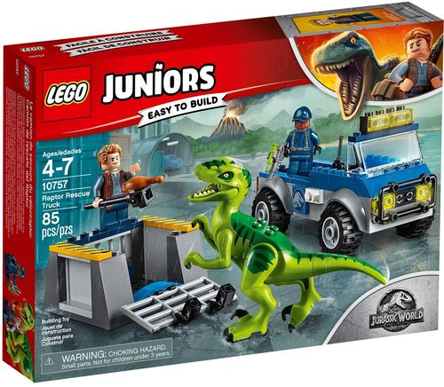 LEGO® Juniors - Jurassic World Raptoren Rettungstransporter - 10757