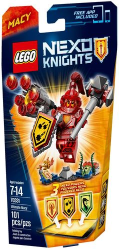 LEGO® Nexo Knights - Ultimativer Macy - 70331