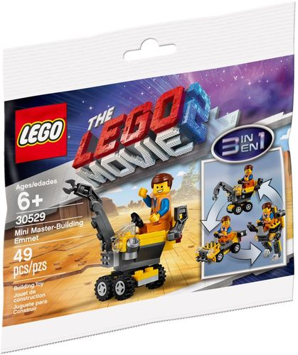 LEGO® THE LEGO MOVIE 2 - Mini-Baumeister Emmet - 30529