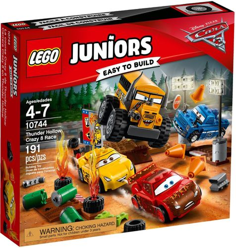 LEGO® Juniors - Cars Crazy 8 Rennen in Thunder Hollow - 10744