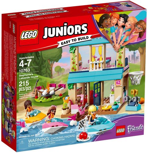 LEGO® Juniors - Stephanies Haus am See - 10763