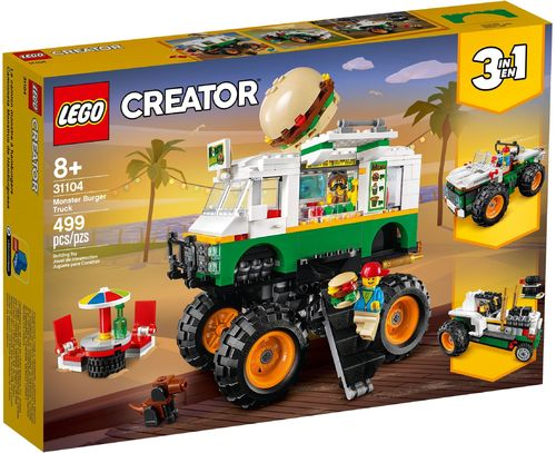 LEGO® Creator - 3 in 1 Burger-Monster-Truck - 31104