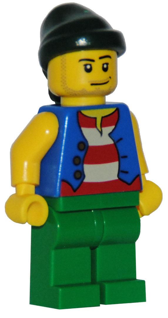 Seeräuber mit Pistole NEUWARE LEGO Figur Pirat 1 x Piraten Räuber