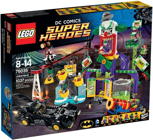LEGO® DC Comics™ Super Heroes - Joker-Land - 76035