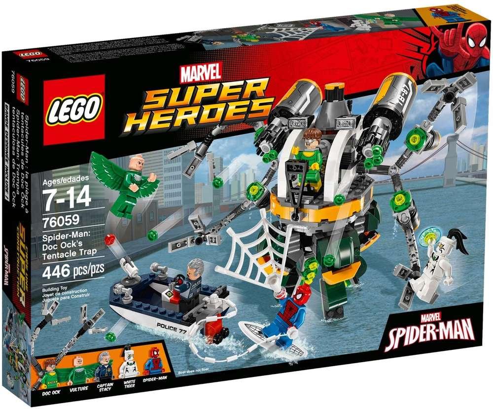 1x LEGO Set 76057 Adesivi Super Heroes Spider-Man