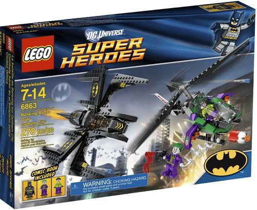 LEGO® DC Comics™ Super Heroes - Batwing Battle Over Gotham city - 6863