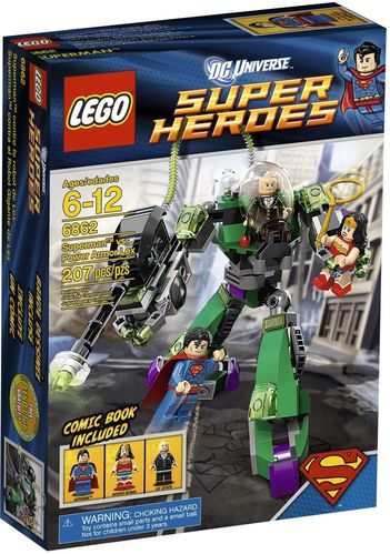 LEGO® DC Comics™ Super Heroes - Superman vs. Lex Luthor - 6862