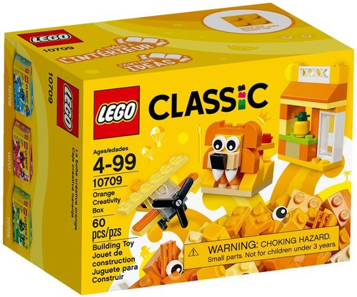 LEGO® Classic - Kreativ-Box orange - 10709