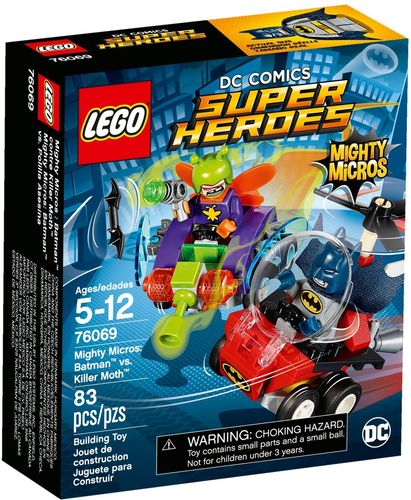 LEGO® DC Comics™ Super Heroes - Mighty Micros: Batman vs. Killer Moth - 76069