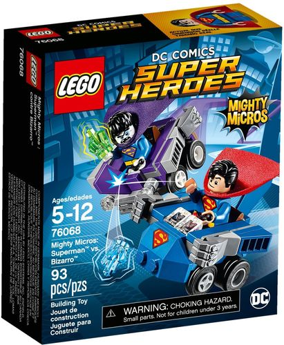 LEGO® DC Comics™ Super Heroes - Mighty Micros: Superman vs. Bizarro 76068