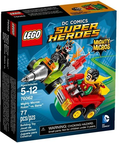 LEGO® DC Comics™ Super Heroes - Mighty Micros: Robin vs. Bane - 76062