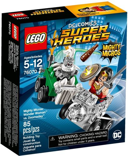 LEGO® DC Comics™ Super Heroes - Mighty Micros: Wonder Woman vs. Doomsday - 76070