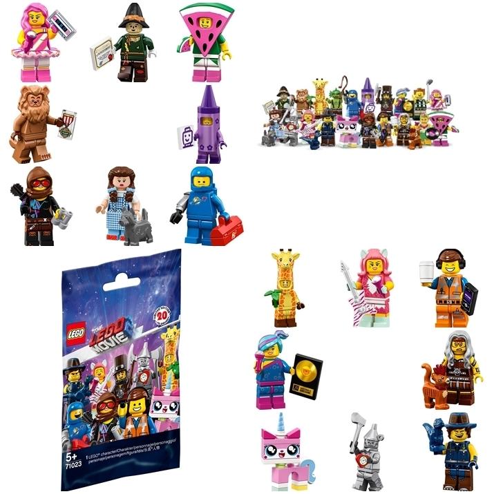 LEGO® Serie The Lego Movie Minifiguren 71023 diverse nach Wahl NEU