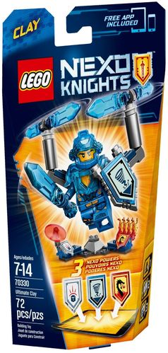 LEGO® Nexo Knights - Ultimativer Clay - 70330