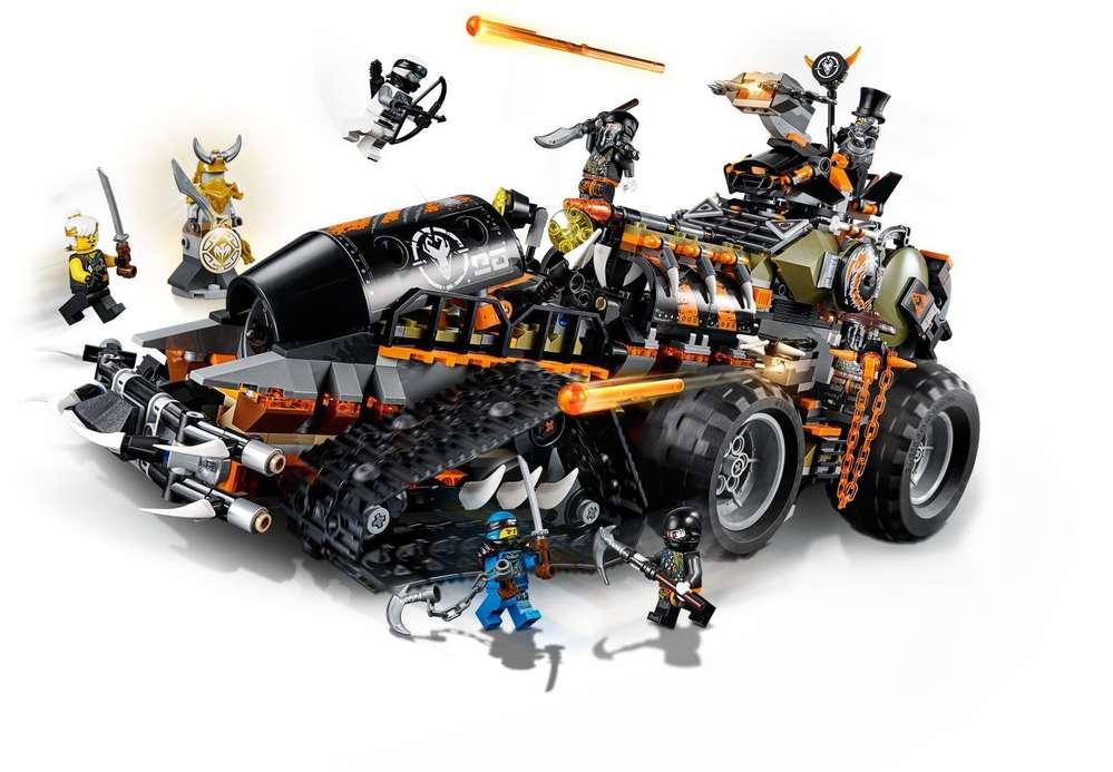 lego® ninjago  drachenfänger  70654  steinekiste