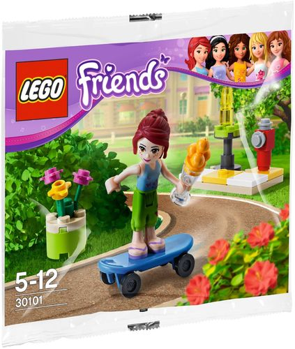 LEGO® Friends - Mia mit Skateboard  - 30101