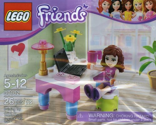 LEGO® Friends - Olivia mit Laptop - 30102