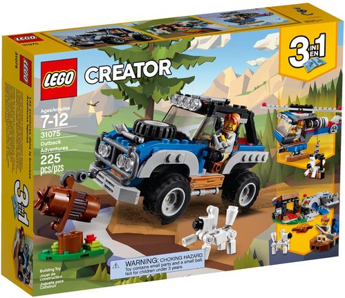 LEGO® Creator - 3 in 1 Outback Adventures - 31075
