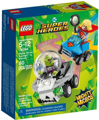 LEGO® DC Super Heroes - Mighty Micros: Supergirl vs. Brainiac - 76094