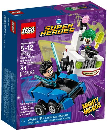 LEGO®  Marvel Super Heroes - Mighty Micros: Nightwing vs. The Joker - 76093