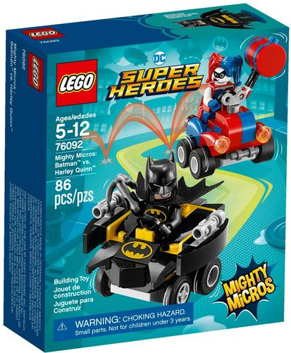LEGO® DC Super Heroes - Mighty Micros: Batman vs. Harley Quinn - 76092