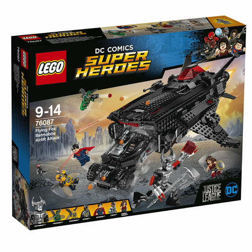 LEGO® DC Comics Super Heroes - Flying Fox: Batmobil-Attacke aus der Luft - 6087