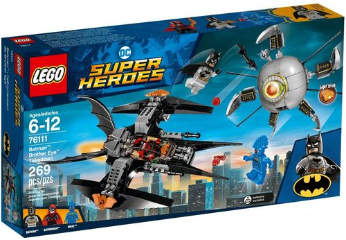 LEGO® DC Comics Super Heroes - Batman: Brother Eye Gefangennahme - 76111